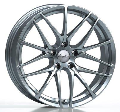 Breyton Fascinate Hyper Silver BMW 5 serie G30 en G31 velgen 20 inch breedset