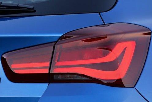 BMW 1 serie F20 LCI en F21 LCI blackline achterlichten origineel BMW