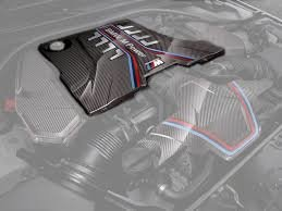 BMW M Performance Carbon motorafdekking BMW F90 M5 origineel BMW