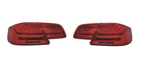 BMW 3 serie E92 achterlichten LCI look rood/smoke