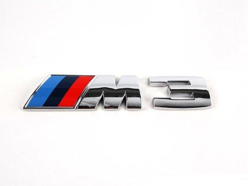 BMW 3 serie E90 E92 E93 M3 logo origineel BMW