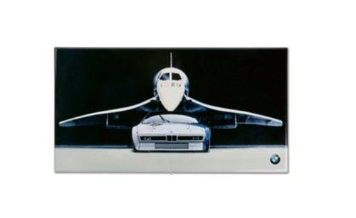 BMW M1 muurschild origineel BMW