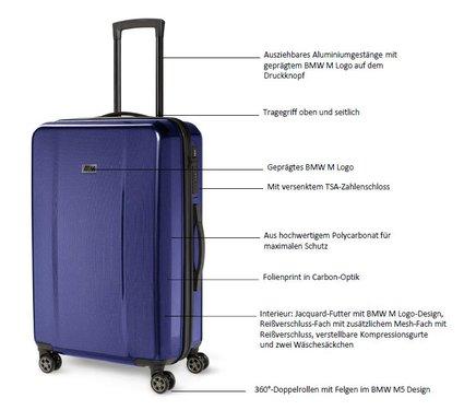 BMW M suitcase bagagekoffer origineel BMW