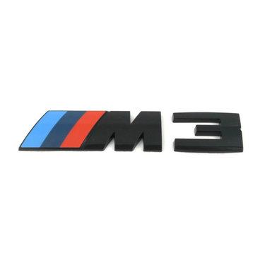 BMW 3 serie F80 M3 blackline logo origineel BMW