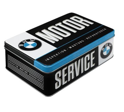 BMW Tin box Service 25 cm x 15 cm
