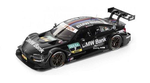 BMW M4 DTM BMW Bank livery miniatuur 1:18 origineel BMW