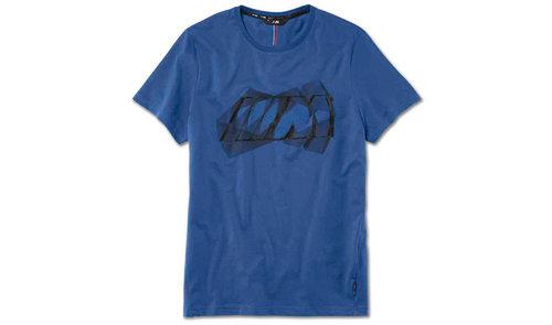BMW M heren t-shirt maat L blauw origineel BMW