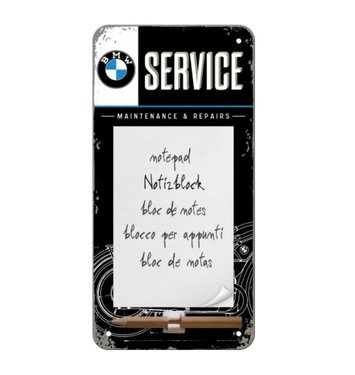 BMW Service Note Pad