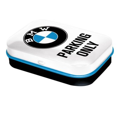 BMW parking only mint box