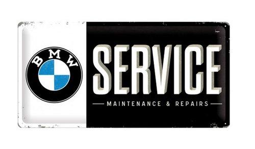 BMW Service 25 cm x 50 cm