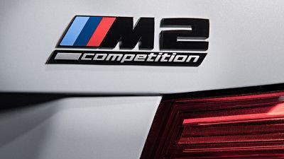 BMW M2 competition blackline logo origineel BMW