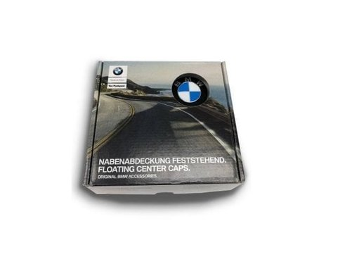 Vaststaande BMW naafdop floating center caps 56MM origineel BMW set