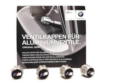 BMW ventieldopjes met M logo origineel BMW