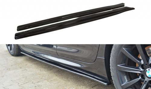 BMW 6 serie F06 glanzend zwart sideskirts M pakket