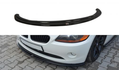 BMW Z4 E85 frontspoiler glanzend zwart