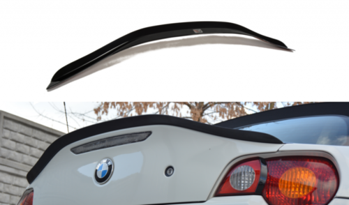 BMW Z4 E85 achterspoiler glanzend zwart