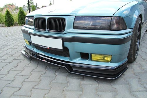 BMW 3 serie E36 front racing spoiler V2 GT corners Maxton Design