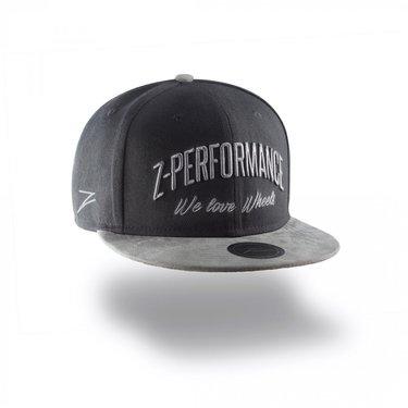 Z-performance cap zwart/grijs
