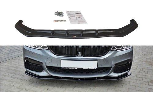 BMW 5 serie G30 en G31 glanzend zwarte frontlip MD