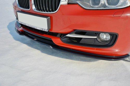BMW 3 serie F30 en F31 frontspoiler model 2012 - 2015 standaard voorbumper Maxton Design