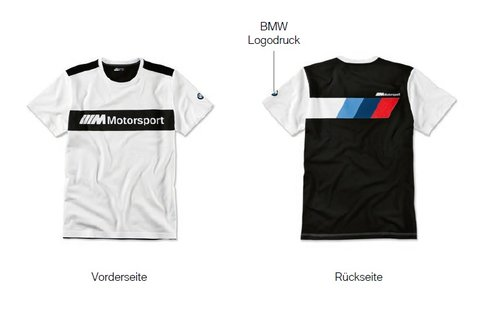 BMW Motorsport T-shirt 2019 collection