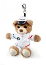 BMW kleine Teddy sleutelhanger Motorsport collection origineel BMW