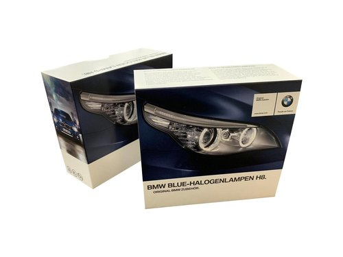 BMW Blue Halogeen lampen H8 angel eyes markers origineel BMW