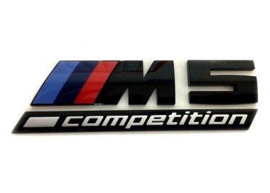 BMW M5 competition blackline logo origineel BMW