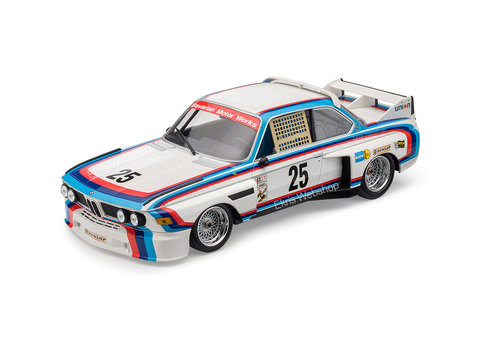 BMW Heritage 3.0 CSL schaalmodel 1:18 origineel BMW
