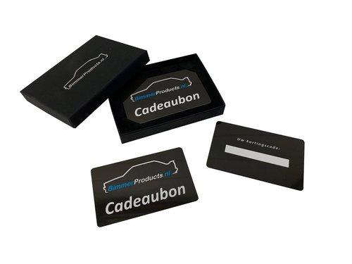 Cadeaubon BimmerProducts.nl €75,-