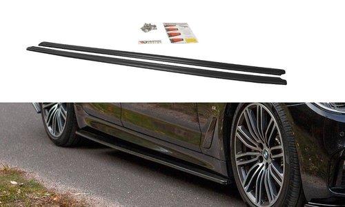 BMW 5 serie G30 en G31 glanzend zwart aanzet sideskirts MD