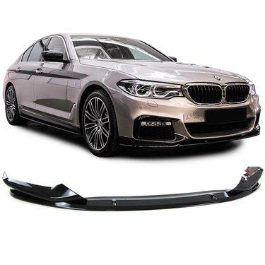BMW 5 serie G30 en G31 glanzend zwarte frontlip