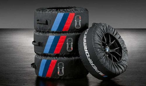 BMW M Performance banden beschermhoezen origineel BMW