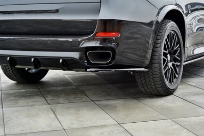 BMW X5 F15 M50D side splitters achter Maxton Design