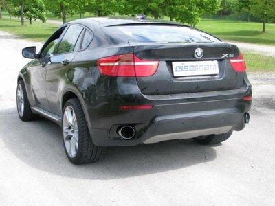 Eisenmann uitlaatsysteem 4x90mm BMW X6 E71 xDrive 3.0d