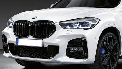 BMW X1 F48 LCI glanzend zwarte nieren origineel BMW