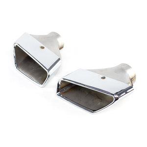 BMW 5 serie G30 G31 530i 530IX sierstukken zilver
