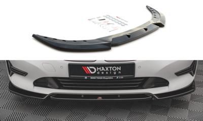 Maxton Design BMW 3 serie G20 en G21 frontspoiler V1 standaard voorbumper glanzend zwart
