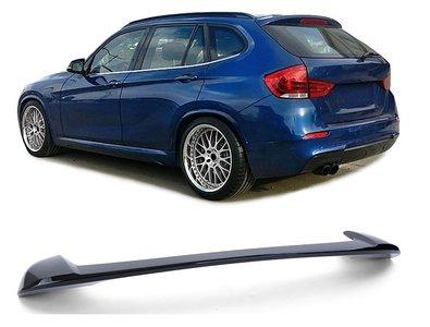 BMW X1 E84 dakspoiler glanzend zwart