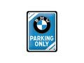 BMW-Parking-Only-Sign-blauw-15-cm-x-20-cm